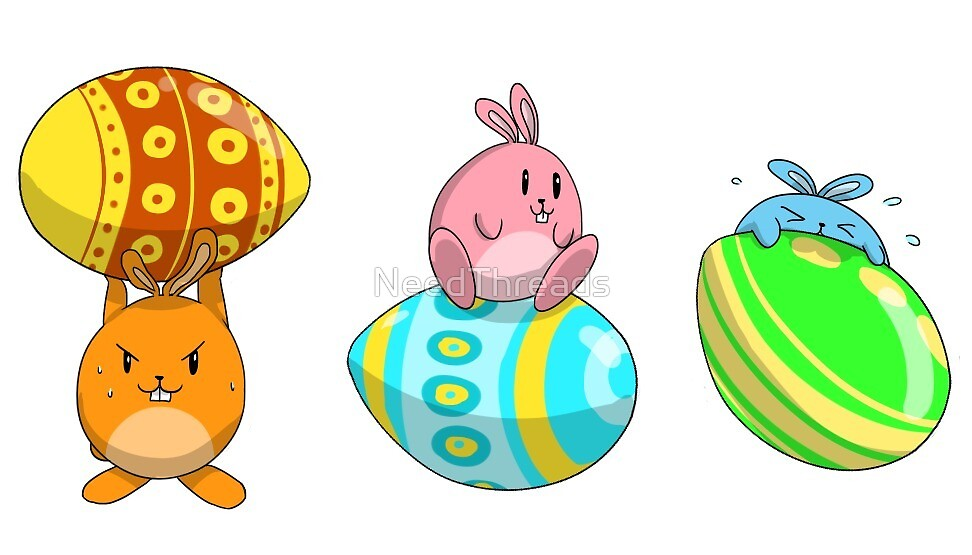 Easter Eggs by NeedThreads