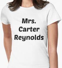 Mrs. Carter Reynolds Womens Fitted T-Shirt