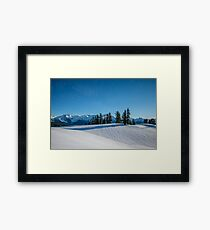 Snow Dunes Framed Print
