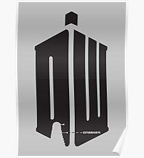 Dalek (exterminate) Poster