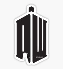 Dalek (exterminate) Sticker