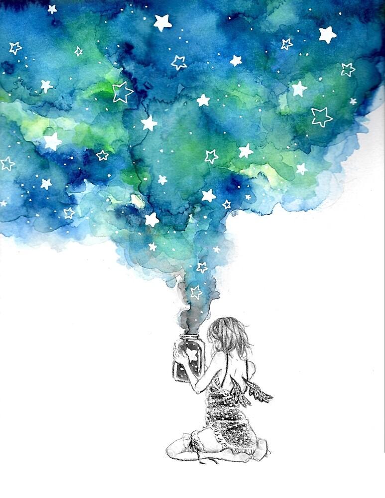 A Jar Full of Stars by aoimirai