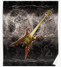 Heavy Metal Guitar  Poster