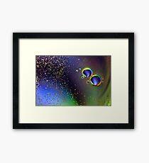 More Bubbles. Framed Print
