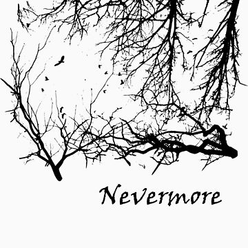 Nevermore (for light t-shirts) by lyubomir
