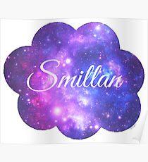 Smillan (White Font) Poster