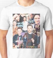 james mcavoy collage Unisex T-Shirt