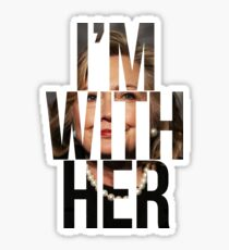 I'm With Her Hillary Clinton 2  Sticker
