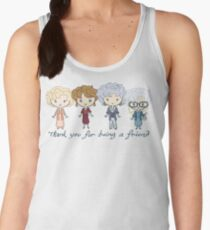 thank you for being a friend Women's Tank Top