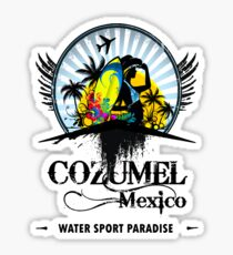 Cozumel Mexico Summer Place Sticker