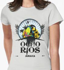 Ocho Rios Jamaica Womens Fitted T-Shirt