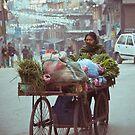 Thamel, Kathmandu, Nepal. by Mark  Bennett