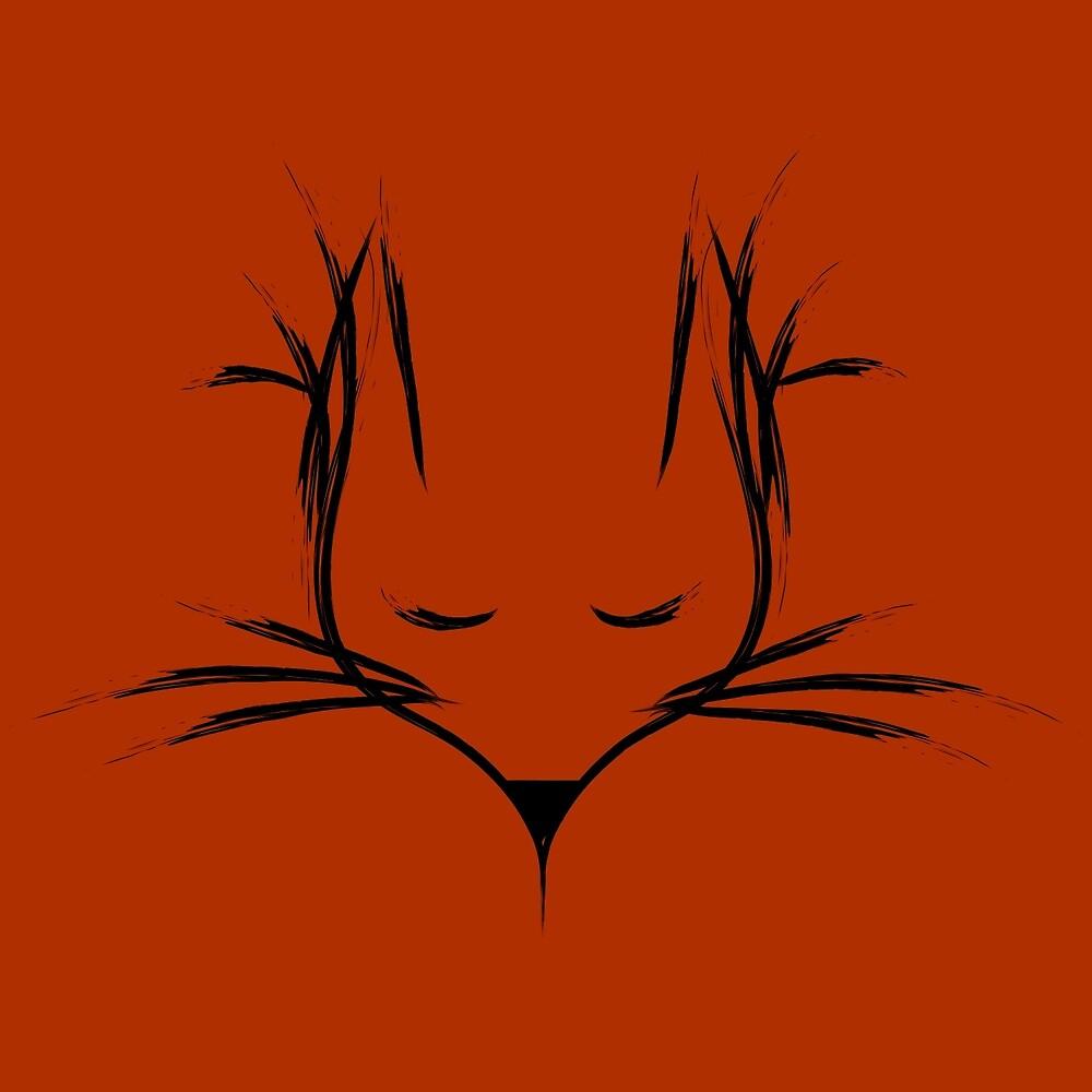 Grunge Fox by Kelsey Caldwell