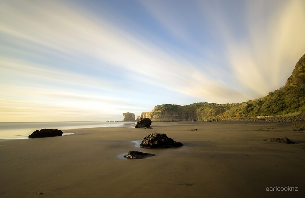 Maori Bay by earlcooknz