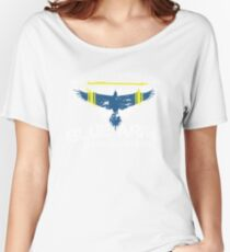 Agent Washington Logo Women's Relaxed Fit T-Shirt