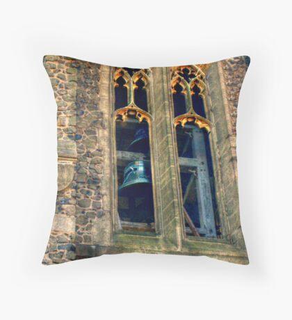 Bell Tower, St James Episcopal Church Throw Pillow
