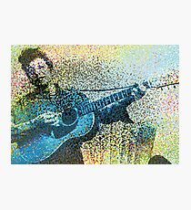 Bob Dylan Digital Photographic Print