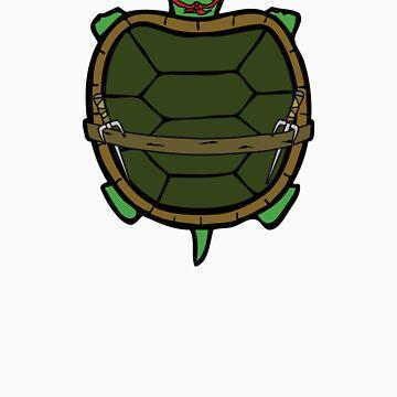 Ninja Turtle Raph by Lewis-Morris