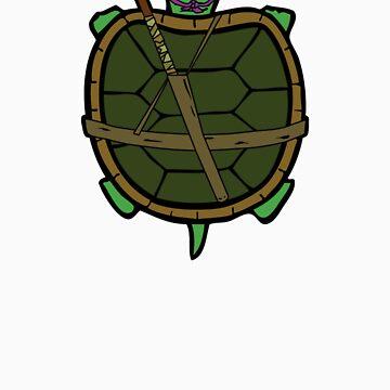 Ninja Turtle Donnie by Lewis-Morris