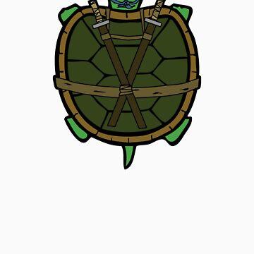 Ninja Turtle Leo by Lewis-Morris