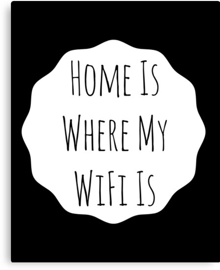 Home Is... Typography Print by avalonmedia