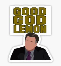 Good God Lemon Sticker