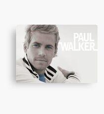 Paul Walker eyes Metal Print