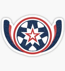 Star Shield Sticker