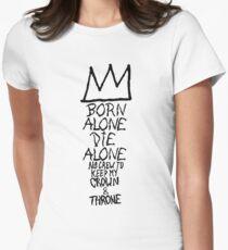 Nas x Basquiat  Womens Fitted T-Shirt