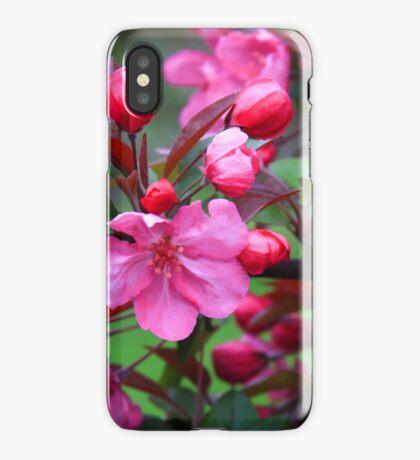 Crabapple Blossoms iPhone Case