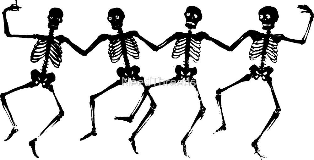Dancing Skeletons by NeedThreads
