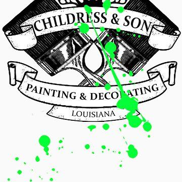 True Detective - 'Childress & Son' - Paint by Damundio