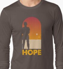 Hope - Tatooine's New Hope! Long Sleeve T-Shirt