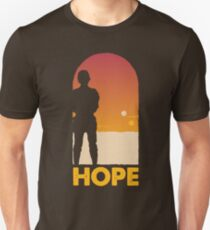 Hope - Tatooine's New Hope! Slim Fit T-Shirt