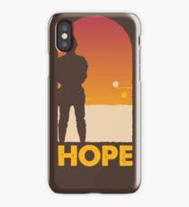 Hope - Tatooine's New Hope! iPhone Case/Skin