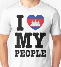 I Love My Khmer People  Unisex T-Shirt