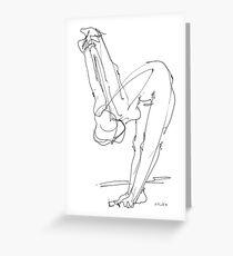 Nude Woman Drawing 9 Greeting Card