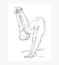 Nude Woman Drawing 9 Photographic Print
