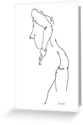 Nude Woman Art 10 by Gordon-Punt