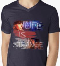 Strange-3 Men's V-Neck T-Shirt