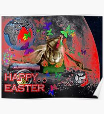 Happy Easter. Poster