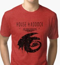 "HTTYD ""House Haddock"" Graphic Tee Tri-blend T-Shirt"
