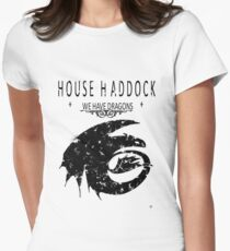 """HTTYD """"House Haddock"""" Graphic Tee Women's Fitted T-Shirt"""