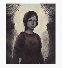 The Last Of Us Ellie Photographic Print