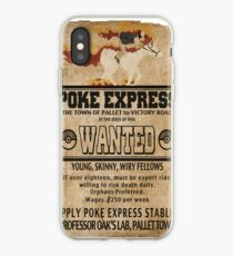 Poke Express - Trainers Wanted iPhone Case