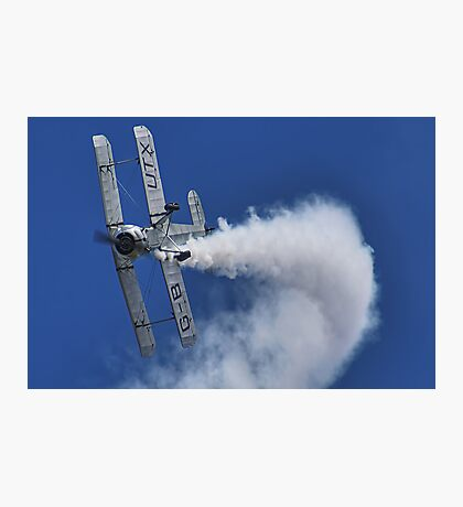 Bücker Bü 133 Jungmeister Smokin !! - Shoreham - 2013 Photographic Print