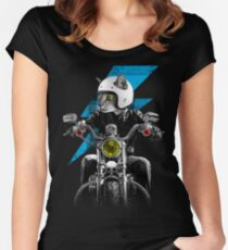 Ride The Lightning Women's Fitted Scoop T-Shirt