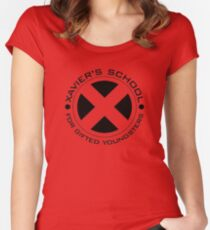 Xavier's School Women's Fitted Scoop T-Shirt