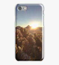High Desert Sunrise - Winter iPhone Case/Skin