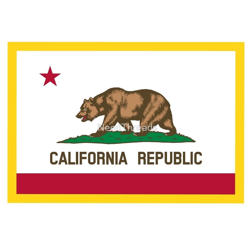 California Flag by NeedThreads